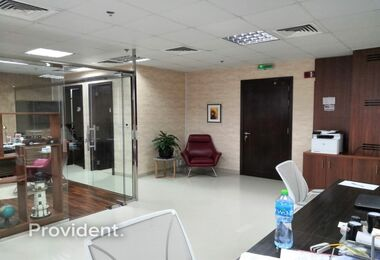Small Fitted Vacant Office in Platinum Tower