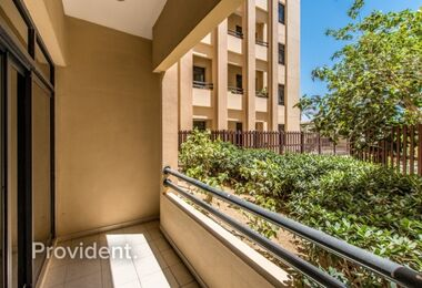 Low Floor with Garden View   Good for Investment