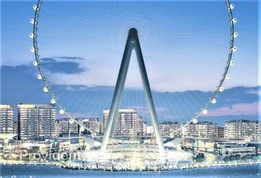 Unobstructed View of Dubai Eye, 3Year Payment Plan