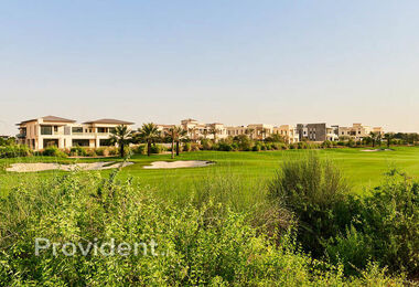 Contemporary Design Plot, Int'l Golf, Dubai Hills