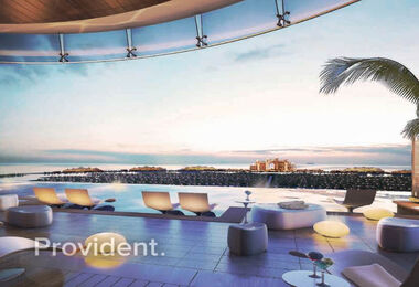 Panoramic Palm View   Sunlit   Brand New Project
