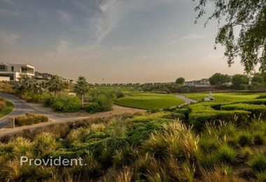 Large Golf Course Facing Plot in Dubai Hills