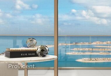 The Only Designer Tower in Emaar Beachfront