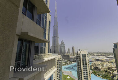 Fully Furnished | Burj Khalifa View | Rented Unit