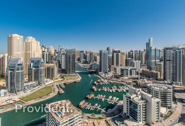 Full Marina View | 1BR For Sale | Mid Floor