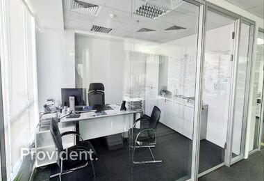 Well Fitted – Beautiful Office – Al Khail View