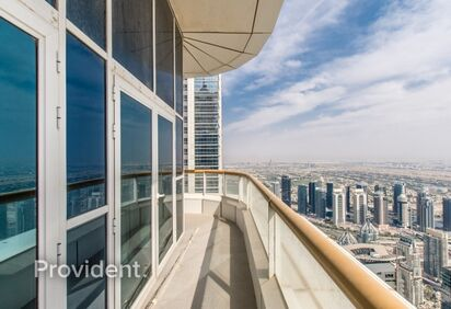 Penthouse for Rent in Dubai Marina