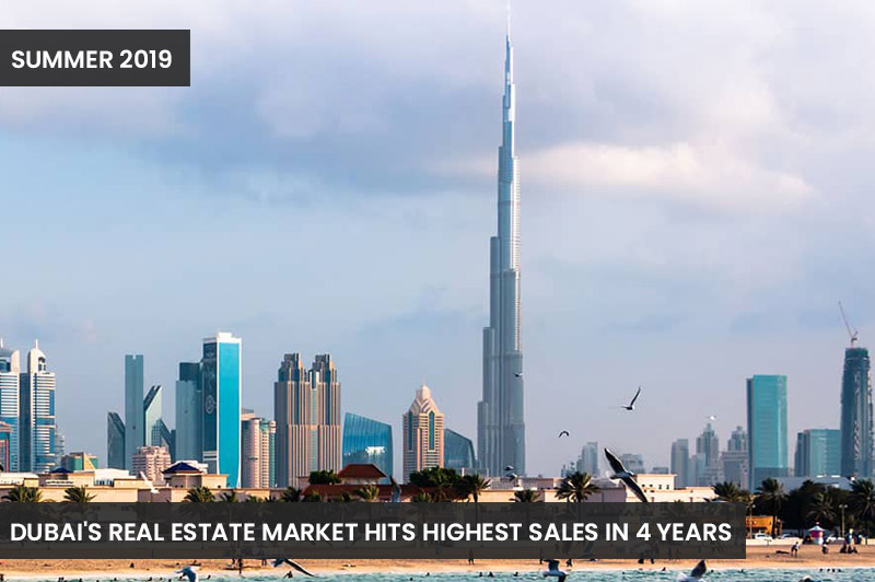 Dubai's Real Estate Market Hits Highest Sales in 4 Years