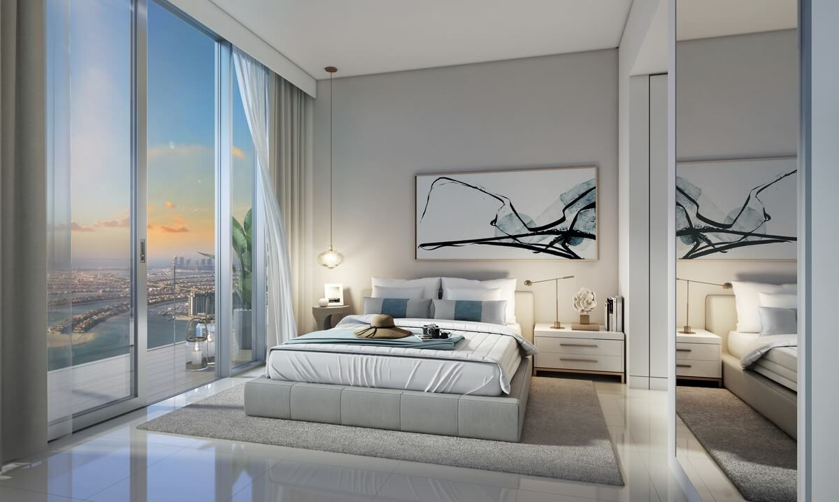DHD Z2B05 Master Bedroom rev 1 - Beach Isle at Emaar Beachfront